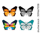 Polygon Animal Butterfly...