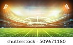 light of stadium 3d render  | Shutterstock . vector #509671180