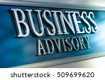 3d illustration of a business... | Shutterstock . vector #509699620