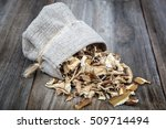 Dried Porcini Mushrooms In A...