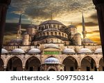 sultanahmet mosque the blue... | Shutterstock . vector #509750314