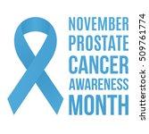 prostate cancer awareness... | Shutterstock .eps vector #509761774