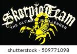 scorpion typography  t shirt...   Shutterstock .eps vector #509771098