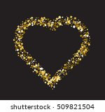 valentine's day abstract... | Shutterstock .eps vector #509821504