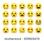 smileys face cute vector... | Shutterstock .eps vector #509835670