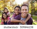 Mixed Race Parents Carry Kids...