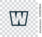 letter w vector  logo. useful...