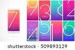 modern ui  gui screen vector... | Shutterstock .eps vector #509893129