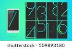 modern ui  gui screen vector...