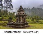 gedong songo is a hindu temple... | Shutterstock . vector #509895334