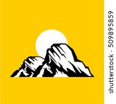 mountain vector. | Shutterstock .eps vector #509895859