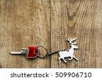Christmas Keyring In Shape Of...