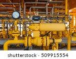 pressure gauge for monitoring... | Shutterstock . vector #509915554