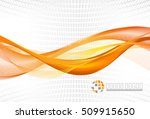 abstract backgrounds with waves  | Shutterstock .eps vector #509915650