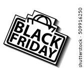 black friday sale sign   Shutterstock .eps vector #509916250