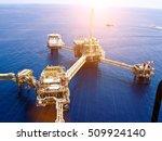 offshore oil   gas central...   Shutterstock . vector #509924140