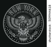Eagles New York Typography  T...