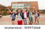 primary education  friendship ... | Shutterstock . vector #509972668