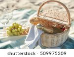 food  holidays and celebration... | Shutterstock . vector #509975209