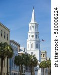 downtown charleston  south... | Shutterstock . vector #510008224