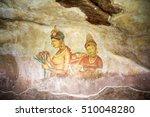 wall art in sigiriya  an... | Shutterstock . vector #510048280