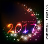 happy new year | Shutterstock .eps vector #510051778