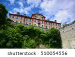 castle on mainau island in... | Shutterstock . vector #510054556