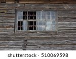 part of the wooden wall  old... | Shutterstock . vector #510069598