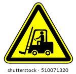 forklift   Shutterstock .eps vector #510071320