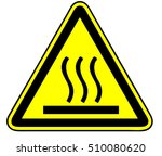 hot surface combustion | Shutterstock .eps vector #510080620