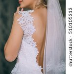 beautiful bride morning | Shutterstock . vector #510105313