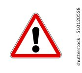general warning signs vector | Shutterstock .eps vector #510120538