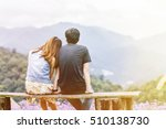Romantic Loving Asia Couple...
