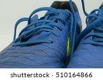 old football shoes   october 25 ... | Shutterstock . vector #510164866