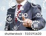 cio or chief information... | Shutterstock . vector #510191620