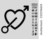 love arrow icon and bonus...   Shutterstock .eps vector #510196624