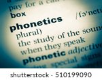 close up of old english... | Shutterstock . vector #510199090