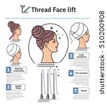 vector illustrated set with... | Shutterstock .eps vector #510200908