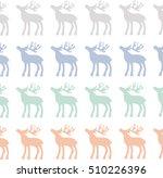 decorative reindeer vector... | Shutterstock .eps vector #510226396