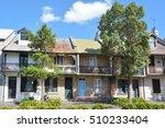 victorian terraced houses in... | Shutterstock . vector #510233404