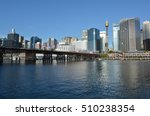 cityscape of darling harbour at ... | Shutterstock . vector #510238354