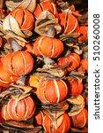 Dried Tangerines As Pot Pourri...