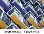 Colourful Architecture Detail
