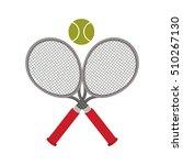 tennis sport design | Shutterstock .eps vector #510267130