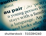 close up of old english... | Shutterstock . vector #510284260