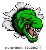 cartoon t rex tyrannosaurus... | Shutterstock .eps vector #510288244