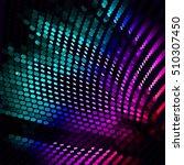 abstract vector background dot... | Shutterstock .eps vector #510307450