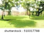 defocused bokeh background of ... | Shutterstock . vector #510317788