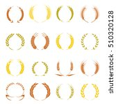 Gold Laurel Wreath   A Symbol...