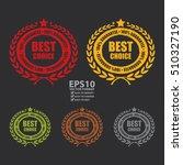 vector   best choice 100 ... | Shutterstock .eps vector #510327190